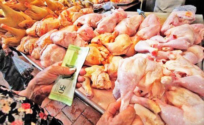 El pollo aumentó 9.815% en un año