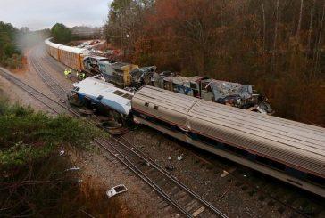 Al menos dos muertos dejó colisión de trenes en Carolina del Sur