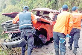 Muere agricultor en accidente