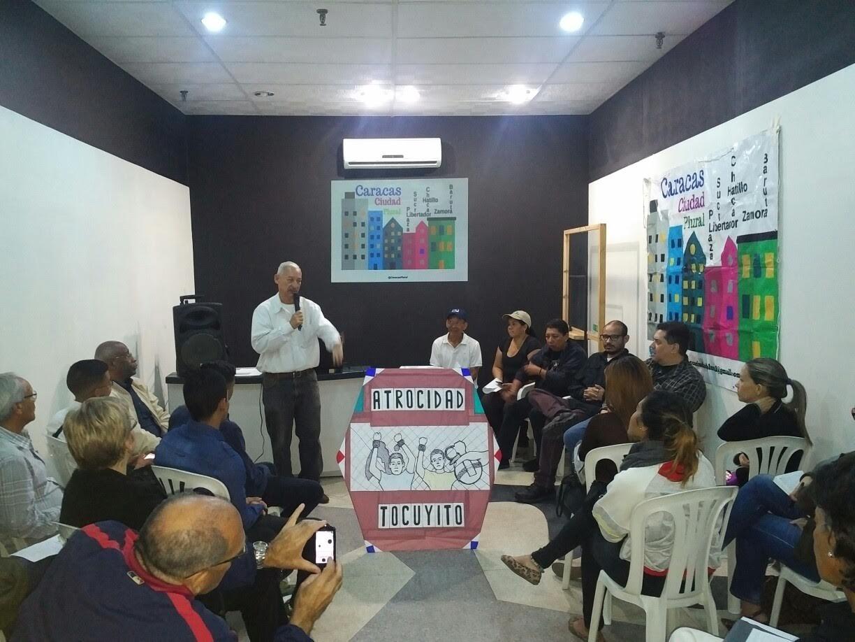 Líderes comunitarios de toda Caracas debatieron su rol ante un posible colapso social