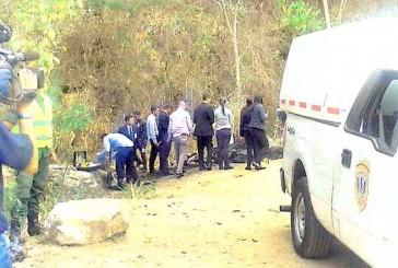 Identifican a cadáveres hallados en vía de La Mariposa
