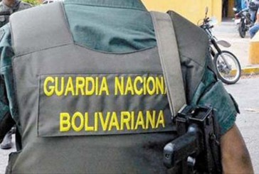 Asesinaron a dos guardias nacionales en Caricuao