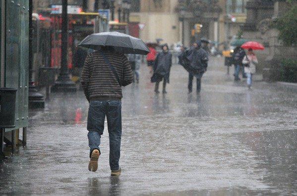 Inameh estima precipitaciones dispersas en gran parte del país