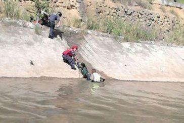 Brigada motorizada de la PNB salvó a mujer que cayó al río Guaire