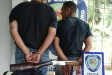 Detenidos por amedrentar a agricultor