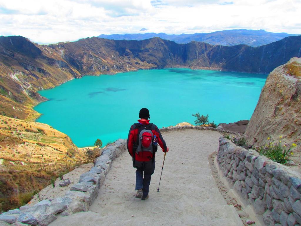 Circuito Quilotoa : El quilotoa considerada una de las lagunas más bellas del mundo