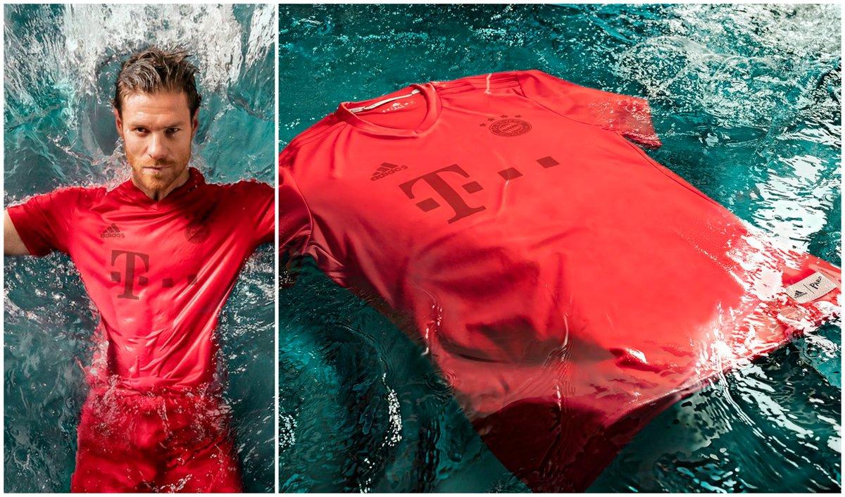 Con camisas de plástico reciclado del mar jugarán este fin de semana el  Bayern Munich y 2bce70438cb24