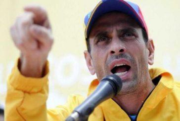 Anularon pasaporte a Capriles en Maiquetía