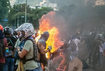 Murió joven quemado durante manifestaciones en Altamira