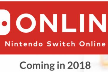 "Nintendo Switch Online ""for free"" hasta el 2018"