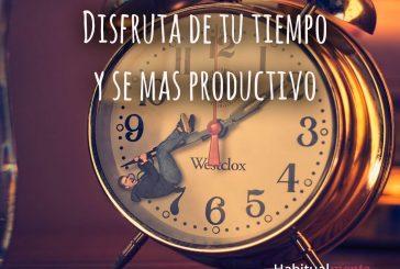 Esta es la hora que te hará más productiva