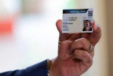 Activarán 1.200 puntos para emisión del Carnet de la Patria