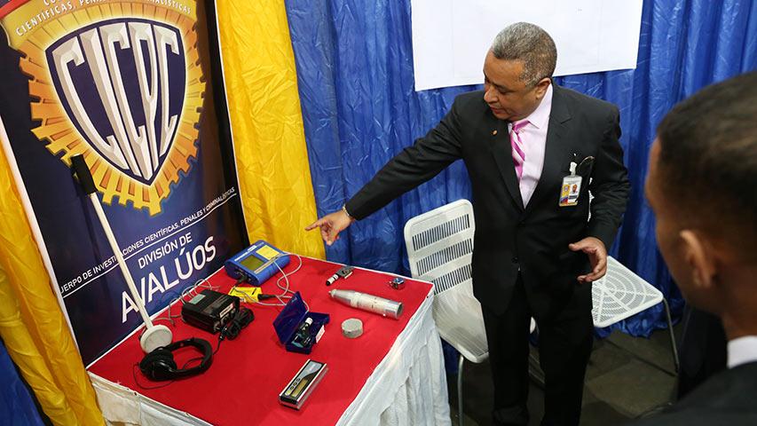 Expo Criminalística del Cicpc en el Poliedro de Caracas desde 16 al 19-N