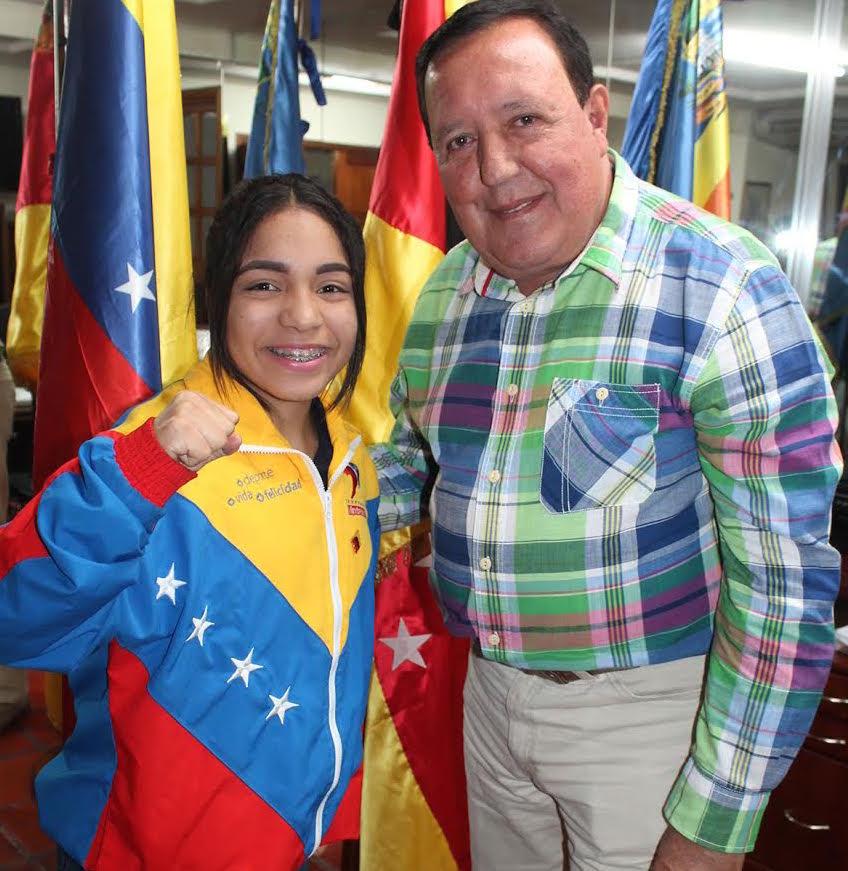 Karateca carrizaleña deja el nombre de Venezuela en alto