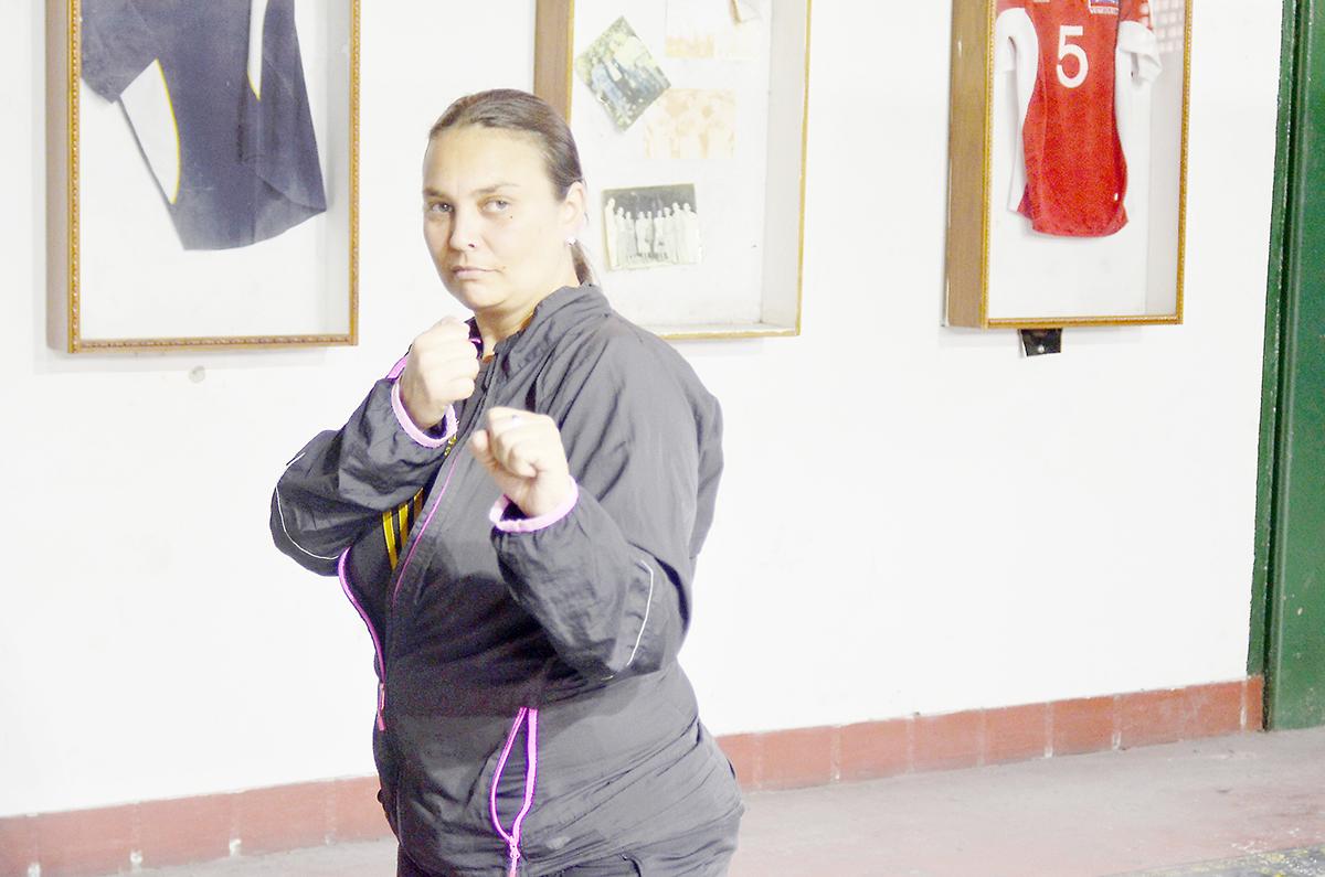 El Taekwondo forma parte del  ADN de Francelina Curbelo
