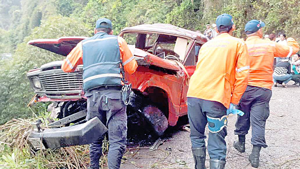 Muere agricultor en accidente