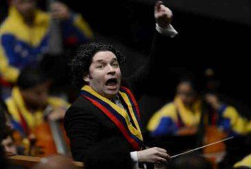 Gustavo Dudamel se presentó en Los Ángeles y así desmintió su muerte