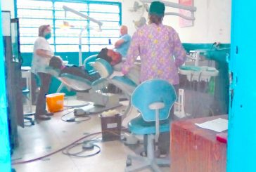 Centros odontológicos  trabajan a medias