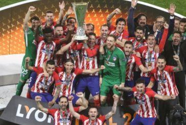 Griezmann le entrega la Europa League al Atlético