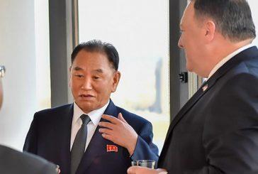 Kim Yong-chol, mano derecha de Kim Jong-un, se reunió con Pompeo en Nueva York