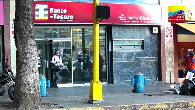 Banco del Tesoro activó cajeros especiales para cobro de pensiones