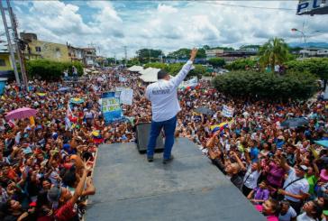 """Bertucci aseguró que """"representa la mayor oportunidad de capitalizar el voto castigo en contra de Maduro"""""""