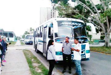 Josy Fernández: 90% del transporte está inoperativo