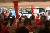 Entregaron línea blanca a 105 familias de Carrizal