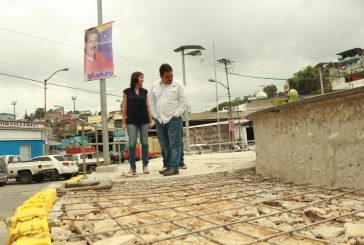 Rehabilitación de plaza Miranda marcha en 50%