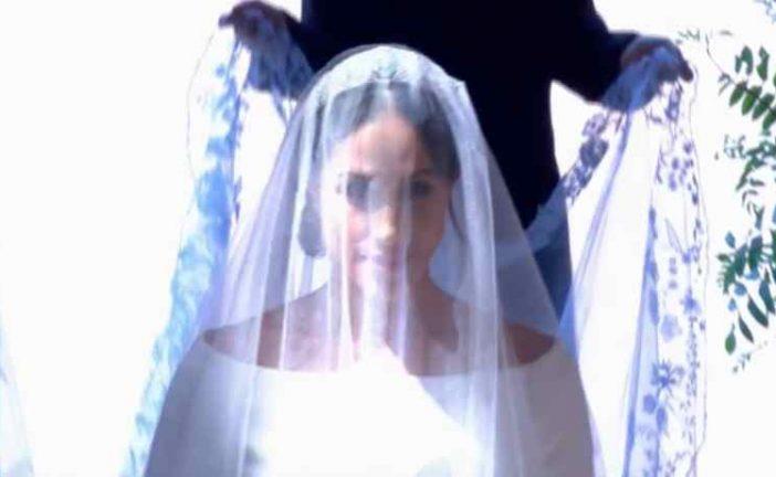 ¿La viste? Descubre todos los detalles del atuendo de Meghan Markle en su boda real