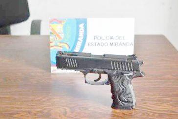 Capturan a chamo con arma neumática en Los Teques