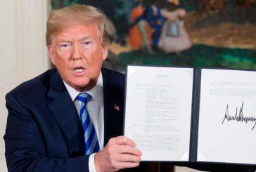 Presidente Trump firmó orden que prohíbe ciertas transacciones con Venezuela