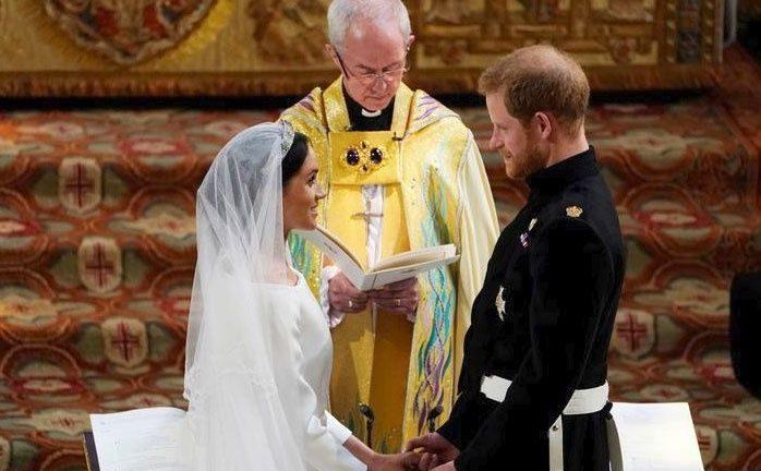 Harry y Meghan dijeron 'acepto' frente al mundo entero