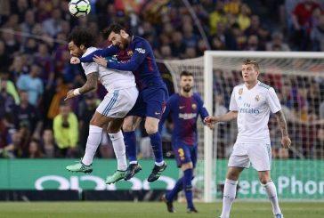 Barcelona y Real Madrid empataron a dos goles