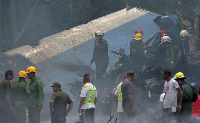 Asciende a 110 los muertos en accidente aéreo en Cuba