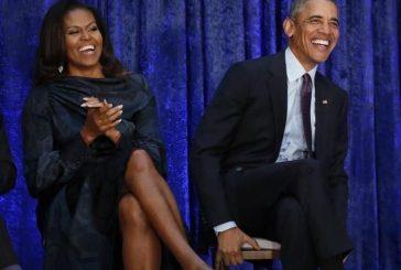 Michelle y Barack Obama producirán contenido para Netflix
