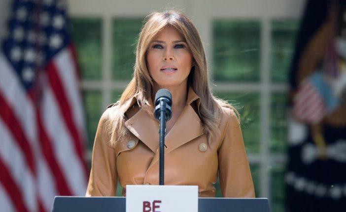Melania Trump regresa a la Casa Blanca después de casi cinco días hospitalizada
