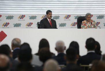 Nicolás Maduro fue proclamado como presidente reelecto por el CNE