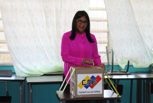 """Delcy Rodríguez: """"Venezuela merece que hagamos todo por ella"""""""
