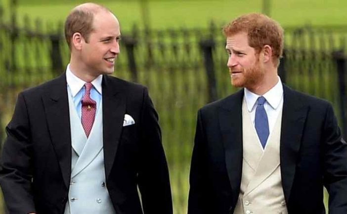 ¡Llegó el novio! El príncipe Harry arribó a Windsor en compañía de su hermano William