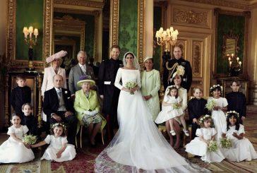Publicaron fotos oficiales de la boda de Meghan y Harry