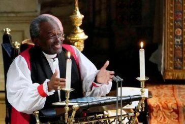Reverendo de Chicago avivó la boda real con un sermón de amor