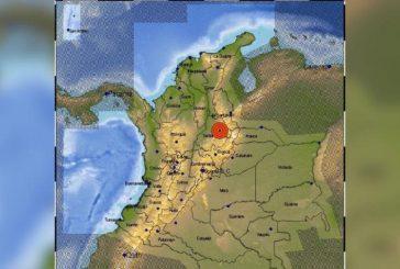 Se sintió fuerte temblor de magnitud 5.5 en Colombia