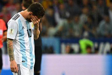Argentina pierde por goleada 0-3 ante Croacia