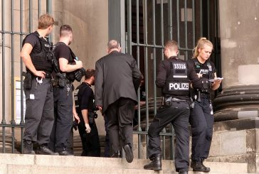 Tiroteo en la catedral de Berlín con dos heridos, entre ellos un policía