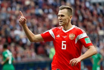 Rusia goleó a Arabia Saudita en el primer partido del Mundial