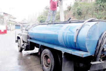 Cisternas deben registrarse  en la Alcaldía para poder operar