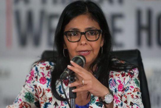 El presidente Maduro nombra vicepresidenta a Delcy Rodríguez