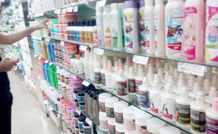 Productos para el cabello están inaccesibles