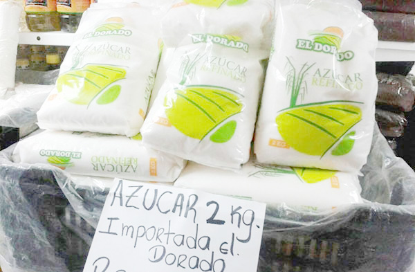 Azúcar importada supera los dos millones